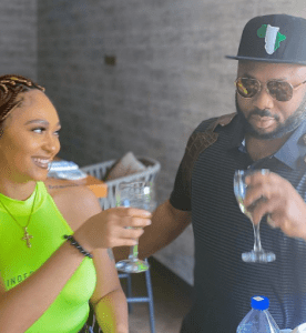 Olakunle Churchill writes on the importance of loyalty with photo of himself and actress Rosy Meurer
