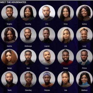 #BBNaija: All housemates to be put for eviction this week except for HOH and Deputy
