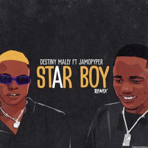 MUSIC:  Destiny Mally Ft. Jamo Pyper – Star Boy (Remix)